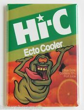 HI-C Ecto Cooler FRIDGE MAGNET (2 x 3 inches) real ghostbusters slimer juice box