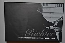 RICHTER LIVE IN MOSCOW CONSERVATORY 1951-1965 27CD BOX SET LIMITED EDITION