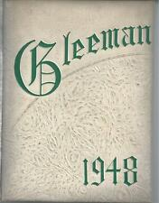 1948 BELLEVUE HIGH SCHOOL YEARBOOK, THE GLEEMAN, BELLEVUE, PENNSYLVANIA