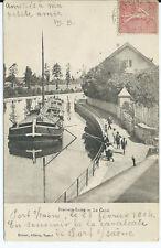 CPA-70 - PORT-sur-SAONE - Le Canal