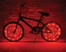 "Wheel Brightz Red LED Bike Bicycle Scooter Lights Tube Waterproof Fits 20"" Above"