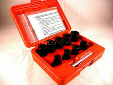 Grip Twist Sockets, Removes Damaged Nuts and Bolts, 10 Peice Kit,  NEW UK STOCK
