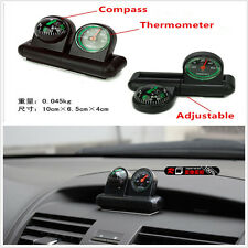 2In1 Compass Thermometer for Car Van Vehicle Dashboard Off Road 4x4