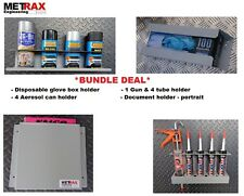 *DEAL Van Storage Bundle - Glove Box, 4 Can, 1 Gun 4 Tube & Document Holder DEAL