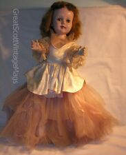 "1950s 24"" American Character Sweet Sue Toddler Walker HP Doll Ballerina Outfit"