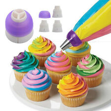 Tri-color Icing Piping Bag Nozzle Converter Cream Coupler Cake Decorating Tools