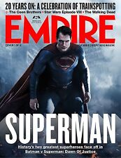 BATMAN VS SUPERMAN EMPIRE MAGAZINE MANIFESTO BEN AFFLECK HENRY CAVILL GAL GADOT