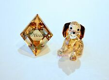 Swarovski Disney Lady and the Tramp Danielle with Plaque Dog 1089222 Brand New