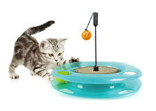 Sport Pet Design-New Kitty City Swat Track is 3 toys in 1 Cat Toy for Cat 0369