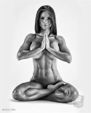 "Michelle Lewin Sex Model Bodybuilding Fitness Motivational Poster 16""x13""  M42"