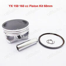 60mm Piston Kit For Upower IMR YCF Pitster GPX SSR YX 150 160cc Pit Dirt Bike