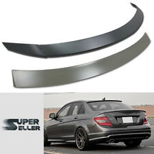 COMBO MERCEDES BENZ W204 4D OE ROOF & B TYPE REAR TRUNK SPOILER 13 C300 C350