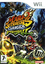 Mario Strikers Charged Football NEW and Sealed Nintendo Wii, 2007