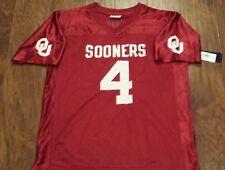 Oklahoma Sooners Youth Boys Football Jersey Small
