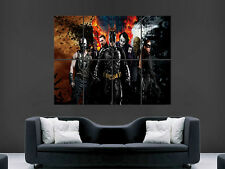 BATMAN JOKER DARK KNIGHT  ART WALL LARGE IMAGE GIANT POSTER !!