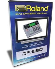 Roland (Boss) DR-880 DVD Video Training Tutorial Help