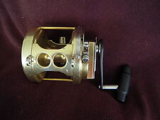 RARE Vintage FIN-NOR TYCOON 9-B (80 Class) 2-SPEED Big Game Reel-a -GOOD CD!