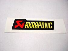 Genuine Akrapovic Aufkleber Sticker Hitzebeständig Horizontal 12x3,5cm P-HST6AL