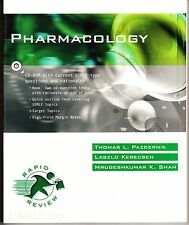 Pharmacology (Rapid Review: USMLE Step 1) Book&CD-Rom Edition - BRAND NEW!!