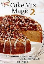 Cake Mix Magic 2: 125 More Easy Desserts ... Good as Homemade-ExLibrary