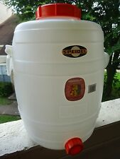 30 L German Speidel Plastic Fermenter Fermentation Bucket Carboy Home Brew Beer