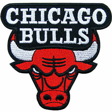 Chicago Bulls NBA Champion Basketball Club Team Embroidered Iron On Patch #SP006