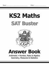 New KS2 Maths SAT Buster: Answer Book - Paperback CGP