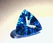 1.10 CT TANZANITE, TRILLION, EARTH MINED, HEATED ONLY, GREAT CUT AND COLOR!