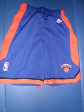 Adidas NBA New York Knicks Little Kids Replica Basketball  Shorts NWT S (4)