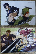 Brave 10 double sided promo poster Japan anime NEW