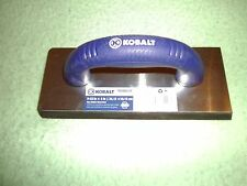 (5) NEW Kobalt 9 1/2-in x 4-in  Gum Rubber Grout Float 0588078 Tile Flooring
