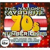Various Artists - Nation's Favourite '70s Number Ones (3CD 2015) Digipack