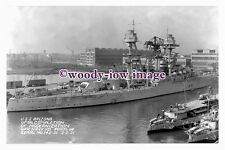 rs0064 - American Navy Warship - USS Arizona - photograph