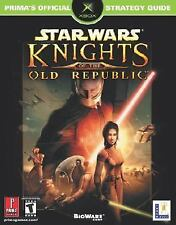 Star Wars: Knights of the Old Republic Prima's Official Strategy Guide