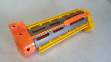NERF N strike Elite - YELLOW RECON BARREL ATTACHMENT - clips guns silencer darts