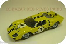 MINI RACING. FORD MKII.  Le mans 1966 .N°4. KIT métal monté.1/43. Kit hand built