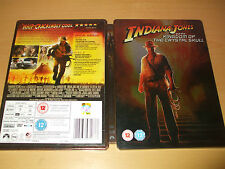 INDIANA JONES AND THE KINGDOM OF THE CRYSTAL SKULL STEELBOOK 2 DVDs FREE P&P