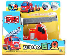 The Little Bus TAYO [ Frank ] Korean Character Pull Back Car Diecast Toy Vehicle