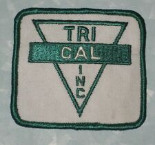 "Trical Inc Patch - 3"" x 2 3/4"" - vintage - soil fumigation products - farming"