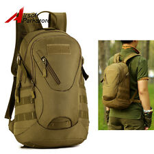 20L Military Molle Tactical Backpack Pack Outdoor Hiking Sports Bag Coyote Brown