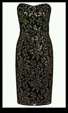 NEXT GOLD SEQUINED DRESS SIZE 14 REG NEW WITH TAGS