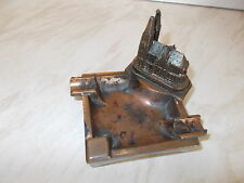 "An Old Bronze Coloured Heavy Ashtray -KOLNER DOM -Measures Approx.  3"" X 4"""