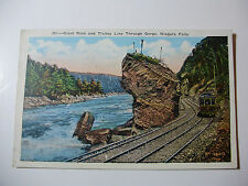 USA798 - NIAGARA FALLS ELECTRIC RAILWAY Co - TROLLEY CAR POSTCARD New York
