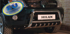 Toyota Hilux 2007-2012 CE APPROVED BULL BAR PUSH BAR GRILL GUARD WITH AXLE GRILL
