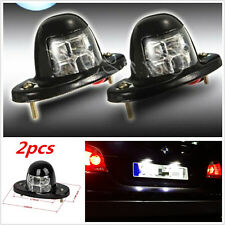 2pcs 12V Car Truck SUV White 6 LED License Plate Door Bed Light New Universal