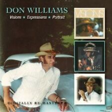 Visions/Expressions/Portrait - Don Williams (2013, CD NEUF)2 DISC SET