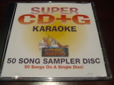 MUSIC MAESTRO KARAOKE SUPER CD+G CAVS SEALED 50 TRACKS SCDG