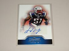 2011 Topps Precision JEROD MAYO Premium Autograph New England PATRIOTS Tennessee