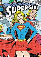 Jigsaw Puzzle Entertainment Supergirl Montage Girl of Steel 1000 pieces NEW