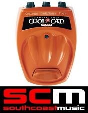 Danelectro Cool Cat Series CF-2 Fuzz Distortion Guitar FX Effects Pedal CF2 New